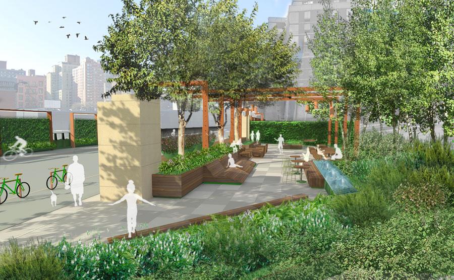 Residential Landscape Architecture hm white - hm white, westside infill residential development
